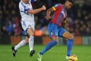 Fraizer Campbell in action for Crystal Palace during the defeat to Sunderland at Selhurst Park