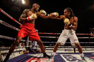 Sinclair's ready to dish out a Queensbury Boxing League lesson