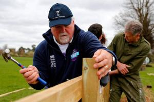 Cricket: Gatting urges community to get involved