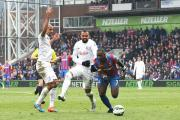Hat-trick man: Yannick Bolasie hit Palace's first Premier League hat-trick in 10 minutes