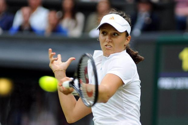 Playing the patience game: Wimbledon's Laura Robson returns to the All England Club tomorrow (Tuesday)