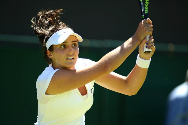 'Rusty' Laura Robson tumbles out of Wimbledon