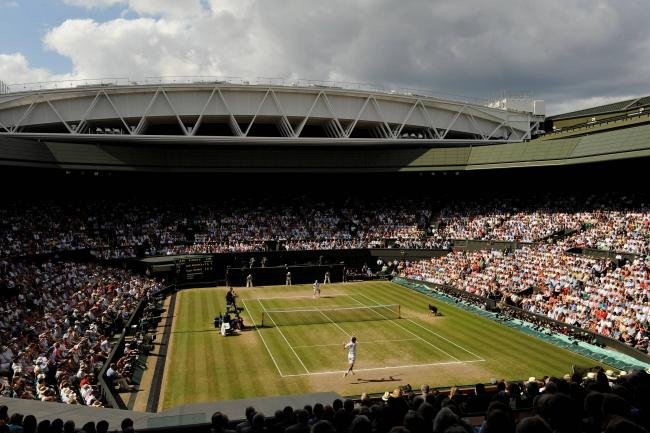 Centre Court's roof is once again closed after the 2015 Championships ended yesterday.