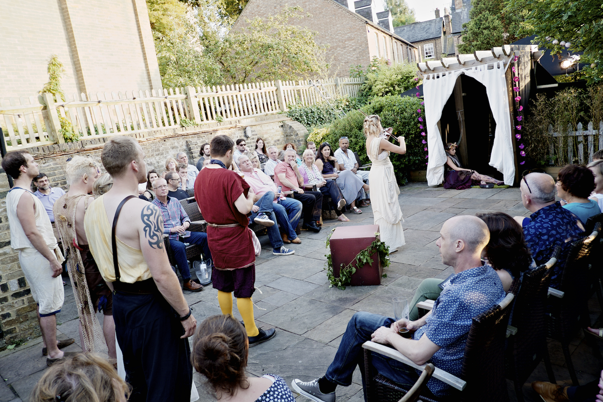 Shakespeare plays set for pub garden performances