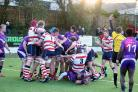 Not this time: Rosslyn Park went down 10-32 at home to Loughborough Students on Saturday