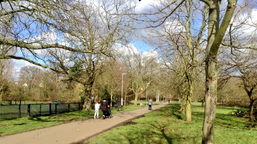 Chestnut Avenue in Tooting Common