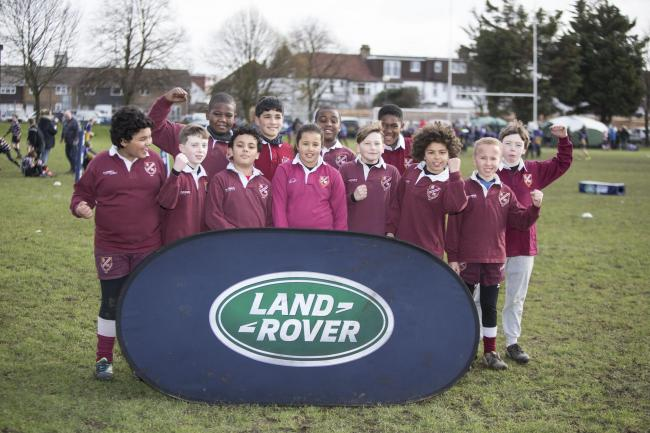 So close: Streatham-Croydon U11s at the Land Rover Premiership Rugby Cup    Picture: onEdition