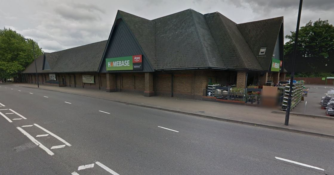 Homebase in Swandon Way. Pic: Google Streetview.