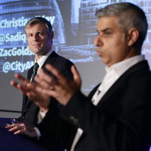 Wandsworth Guardian: Zac Goldsmith and Sadiq Khan are seen as the two frontrunners
