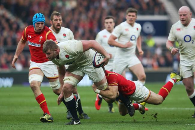 Action man: George Kruis in action during the RBS Six Nations match between England and Wales in March						                    Picture: Getty Images
