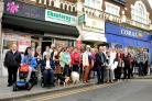 In recent months, residents have been rallying to save shops threatened by planning applications that would cut them in half