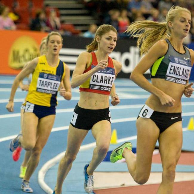 ATHLETICS: Clarke's disappointment will spur her on to better things