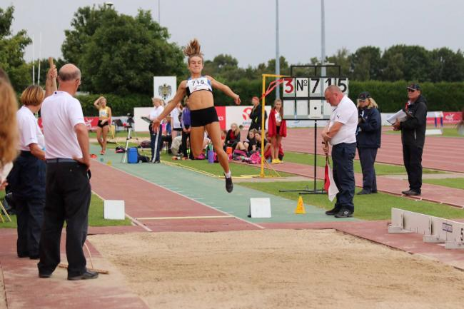 Talented all-rounder: Kingston AC & Polytechnic Harrier Pippa Earley