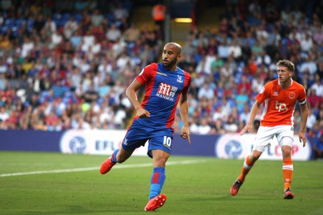 Crystal Palace and England winger Andros Townsend.