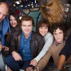 Wandsworth Guardian: Han Solo movie cast together as filming of Star Wars spin-off begins