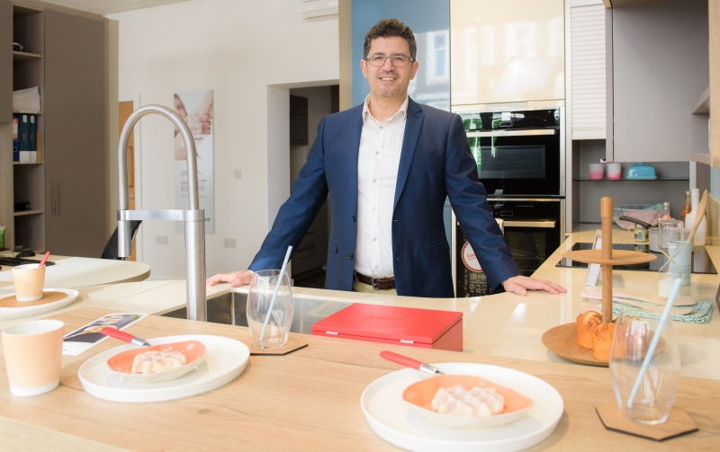 Businessman hopes to bring French style to Ealing with new kitchen showroom