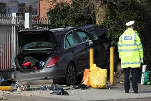 Driver released on bail after car hits five people