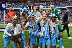 Coventry won the Checkatrade Trophy last month