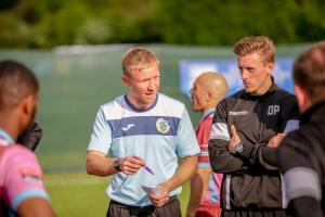 Corinthian-Casuals boss James Bracken has done a remarkable job over the past two seasons. Photo: Stuart Tree