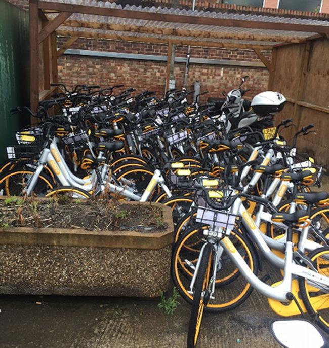 130 oBikes confiscated by Wandworth Council