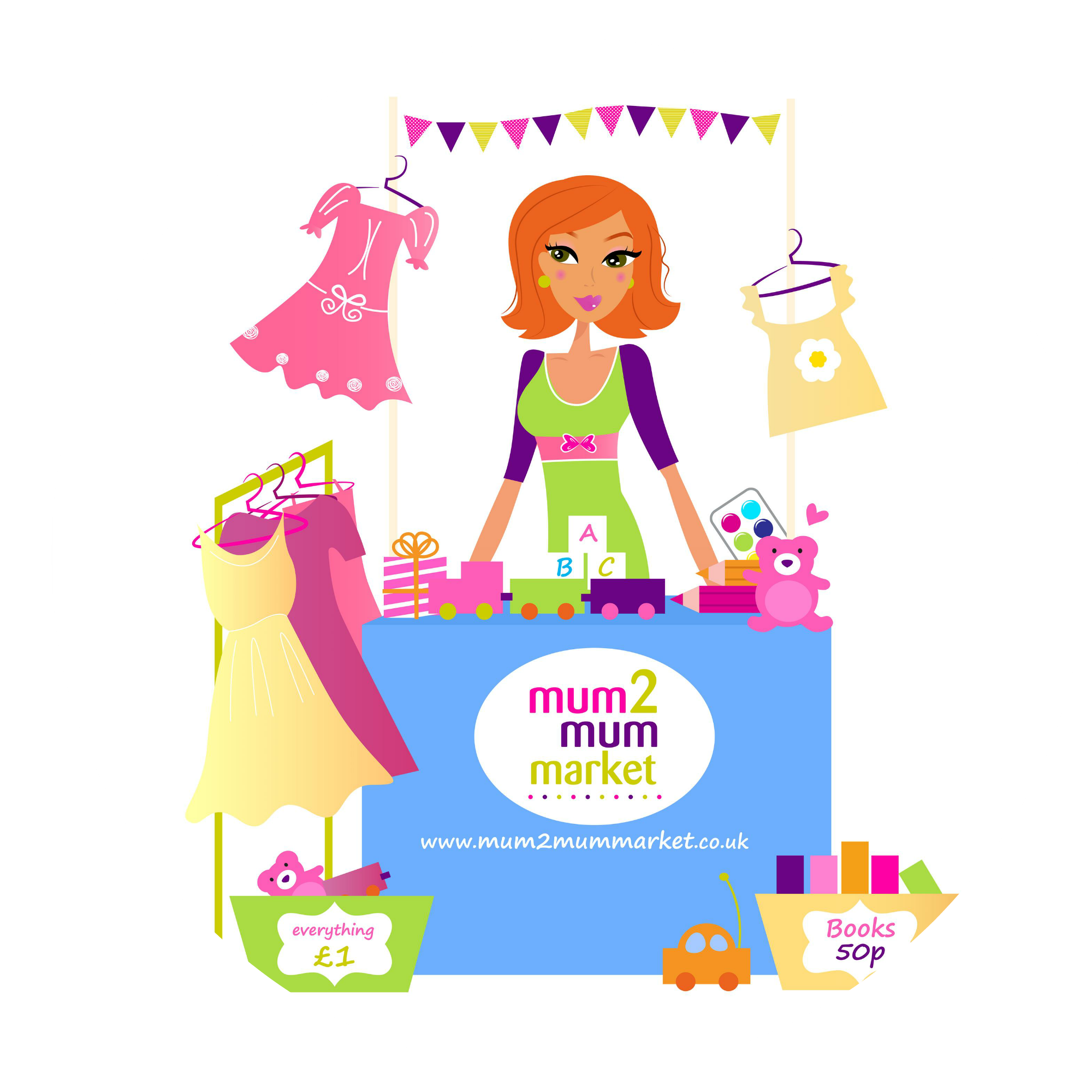 Mum2mummarket - WIMBLEDON - 17th March 2018
