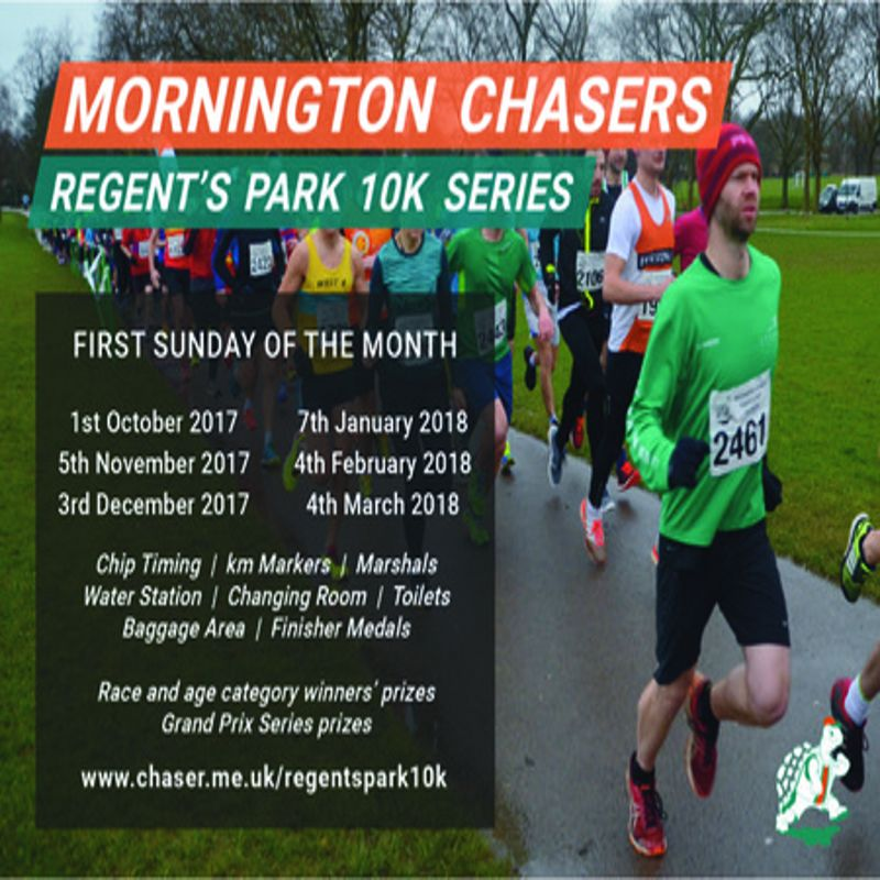 Mornington Chasers Regents Park 10k Series