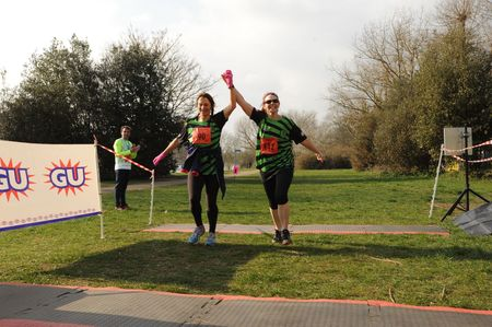 Thames Meander Half-Marathon and Marathon, March 2018