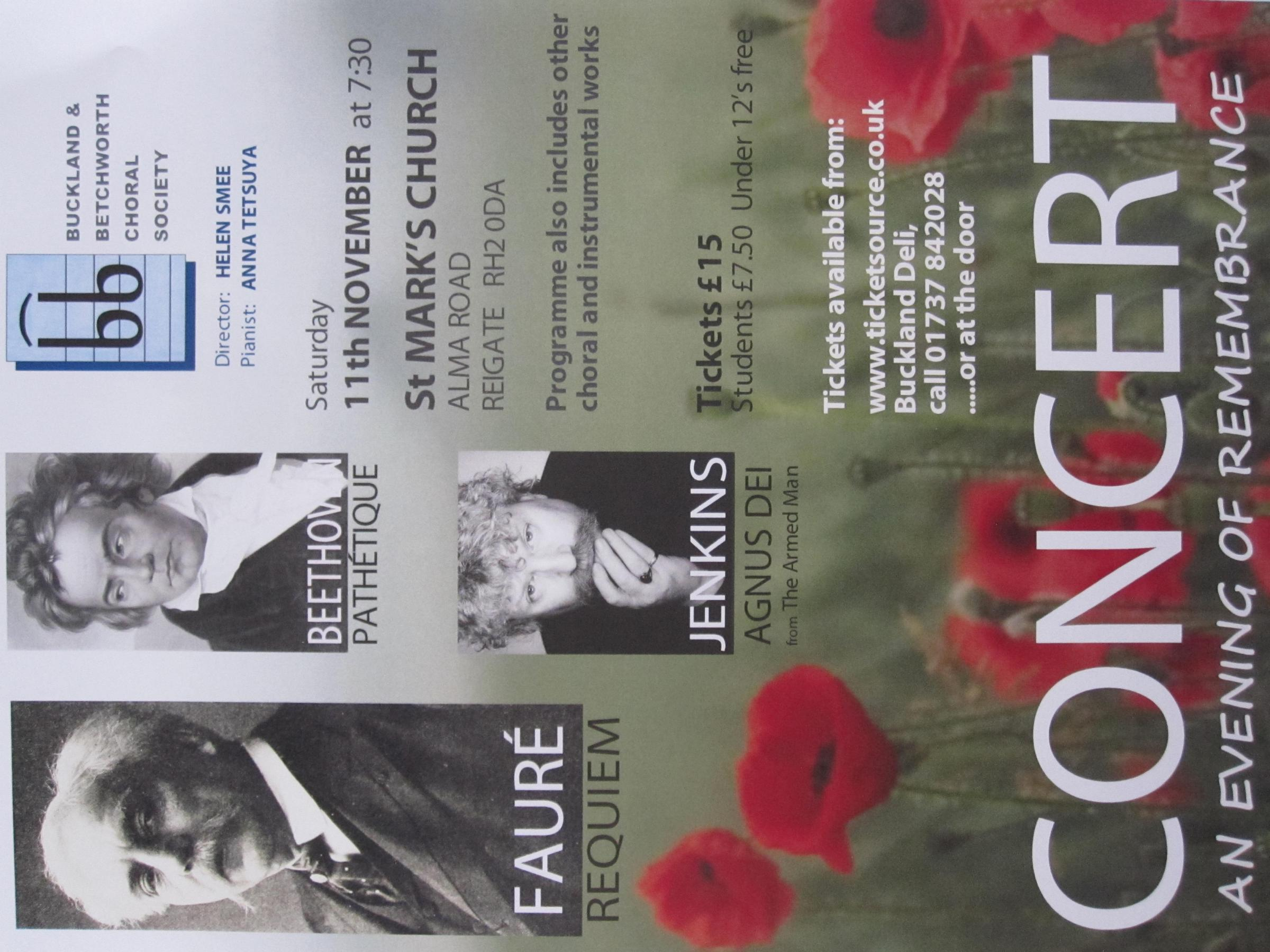 Concert - An Evening of Remebrance