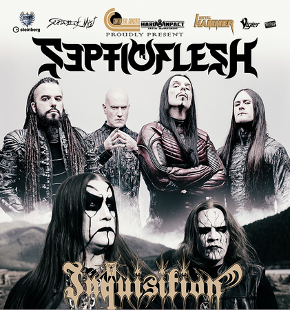Septicflesh and Inquisition live at The Underworld Camden