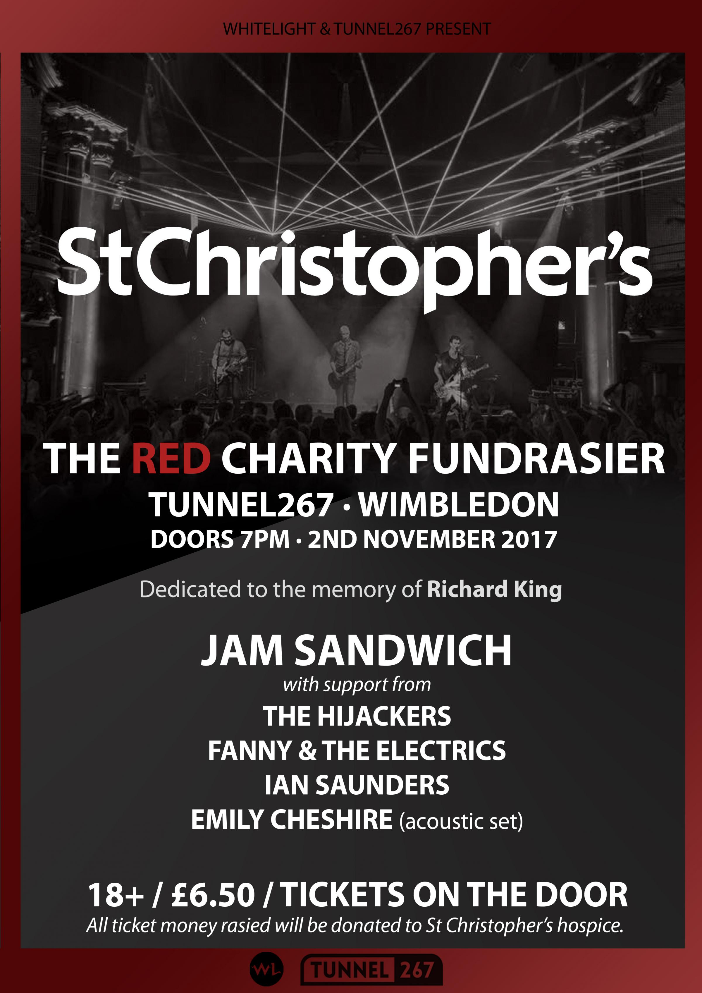 The RED charity fundraiser