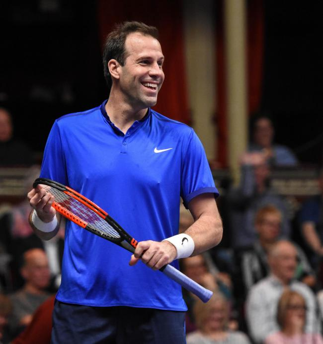 Greg Rusedski. Picture: IMG/Plus 1 Communications