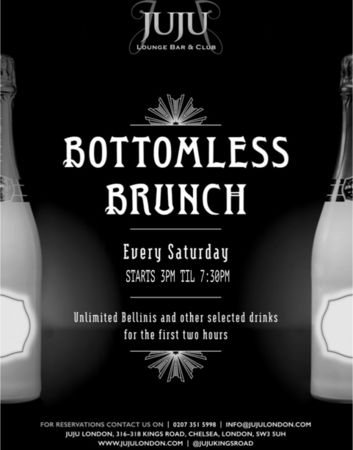 JuJu Chelsea Bottomless Belaire Brunch