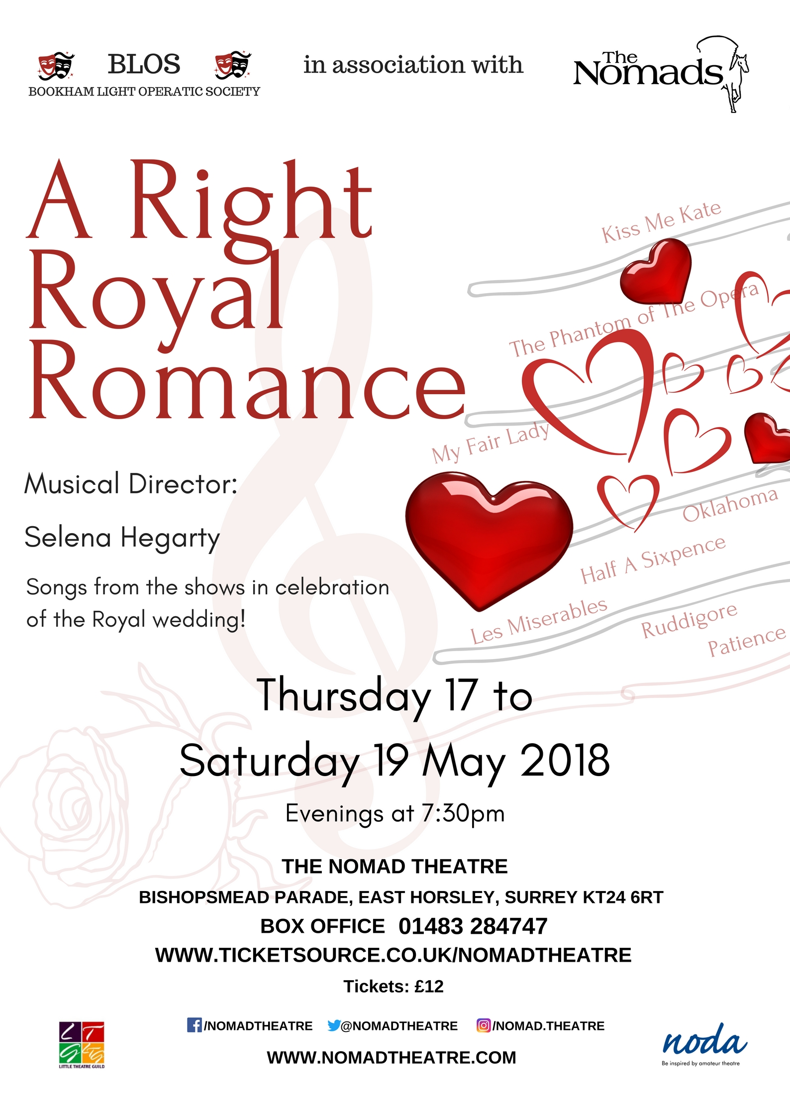 A Right Royal Romance - a concert to celebrate the Royal wedding