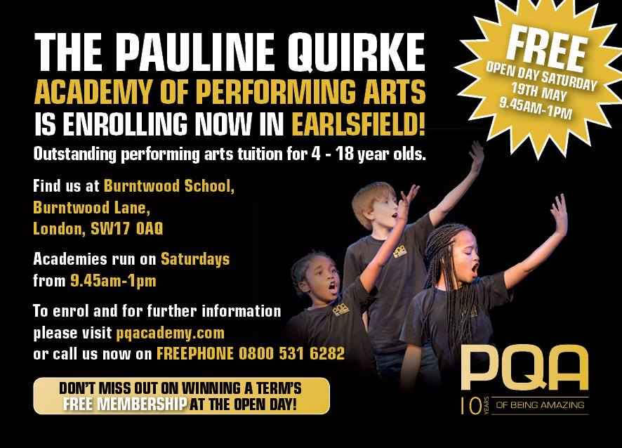 Free Performing Arts Open Day for Kids