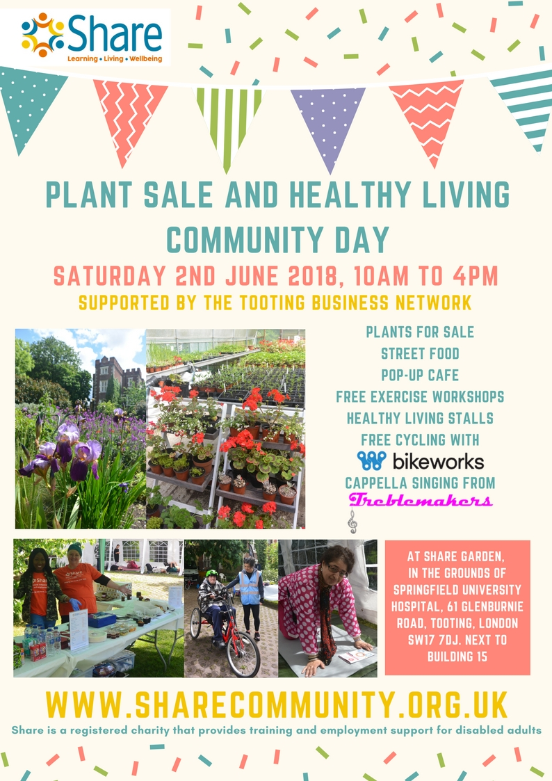 Plant Sale and Healthy Living Community Day