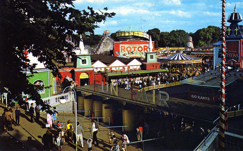Battersea Park funfair during the 1960s. Photo: Wandsworth Council