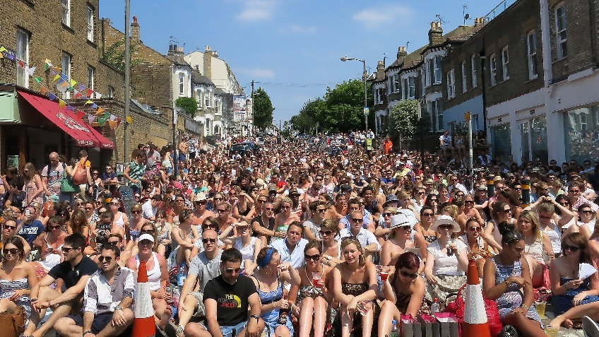 The Northcote Road summer fete is back again