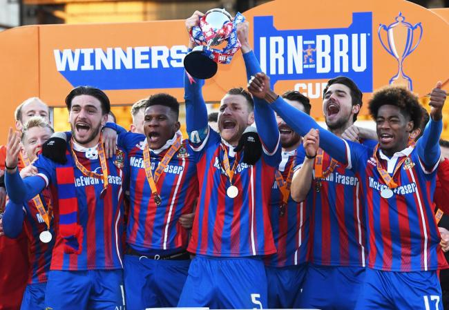 Sutton United will enter the IRN-BRU Cup which was won by Inverness Caledonian Thistle last season