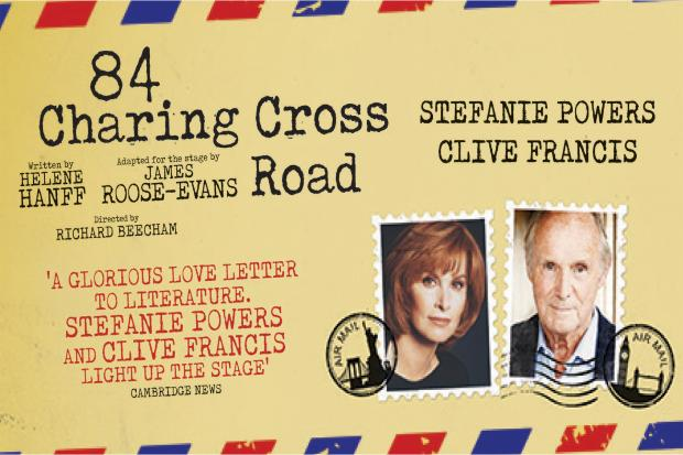 Stefanie Powers and Clive Francis star in 84 Charing Cross Road