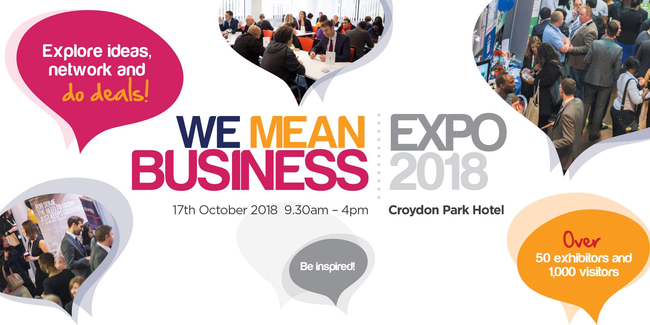 We Mean Business Expo 2018