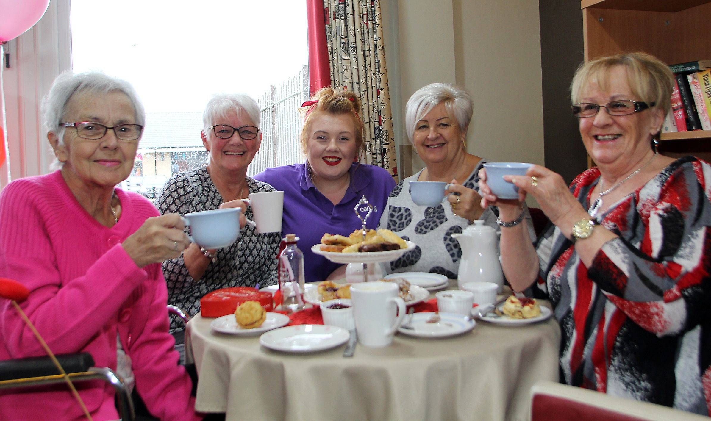 The kettle's on at Mitcham care home as it prepares to host a tasty fundraising event