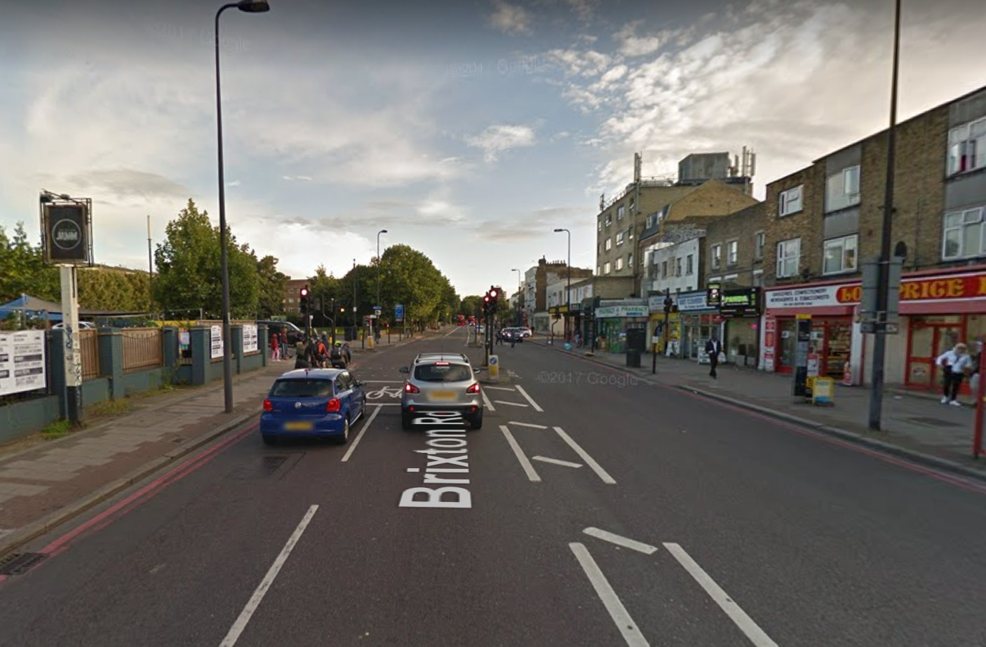 Brixton Road is one of the most polluted roads in London.