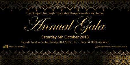 BHS Charitable Hospital - Annual Fundraising Gala 2018