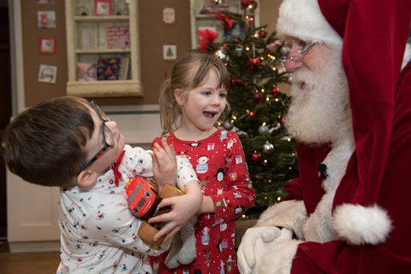 Stories and songs with Santa