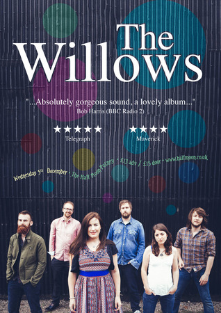 The Willows: Amazing Live Folk Music Live at Half Moon Putney London 5 Dec