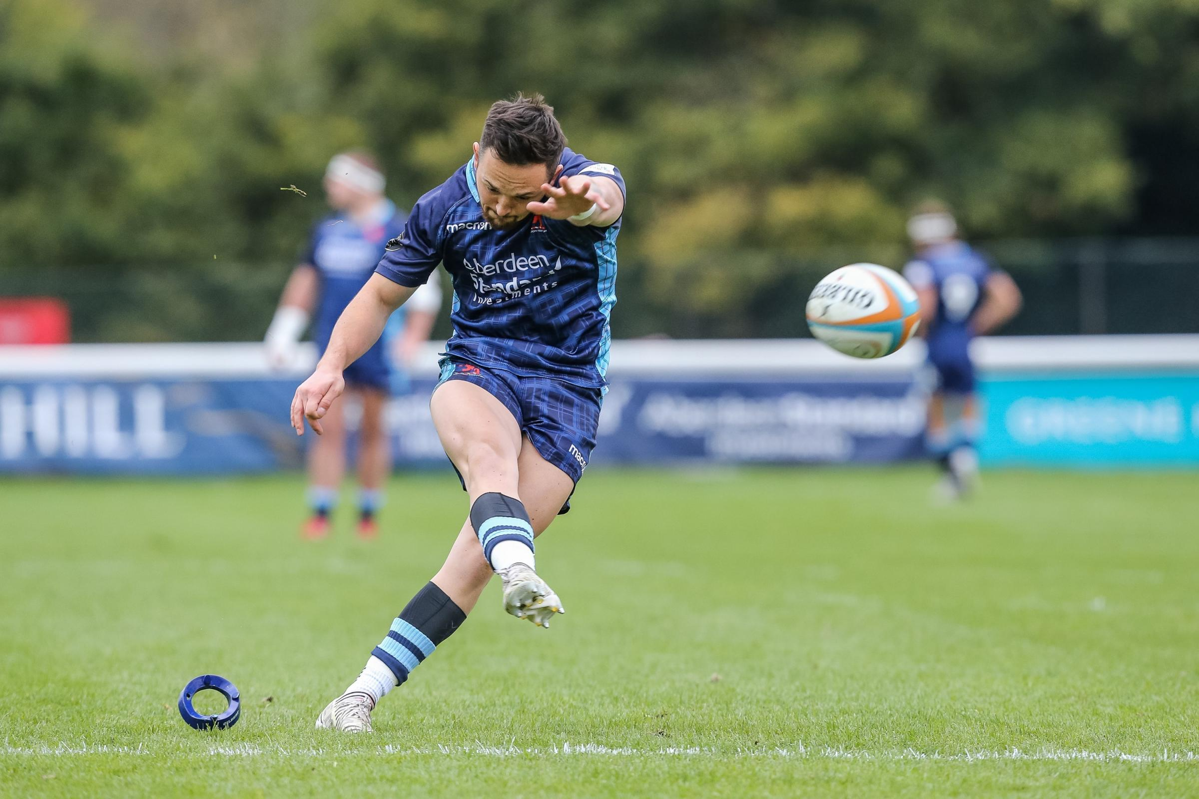 Jacob Perry joined Scottish from Hartpury in the summer (pic: PRiME Media Images)