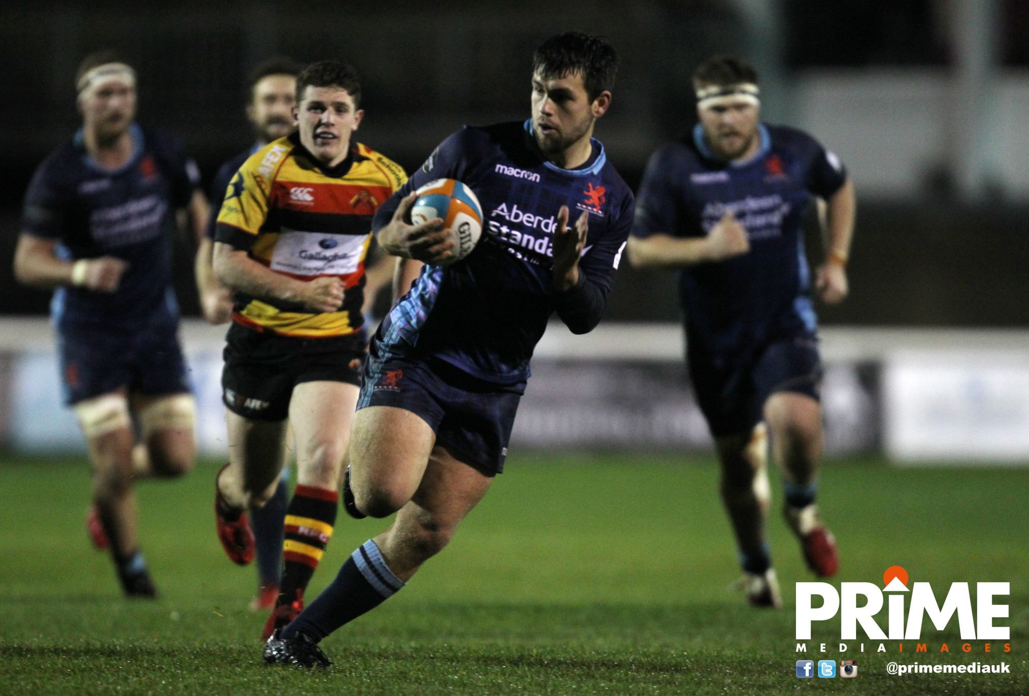 Scottish ran out winner against rivals Richmond (pic:PRiME media)