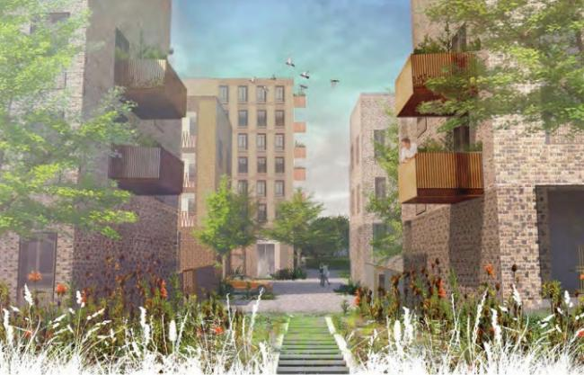 Work redeveloping Westbury Estate will begin by the end of the year.