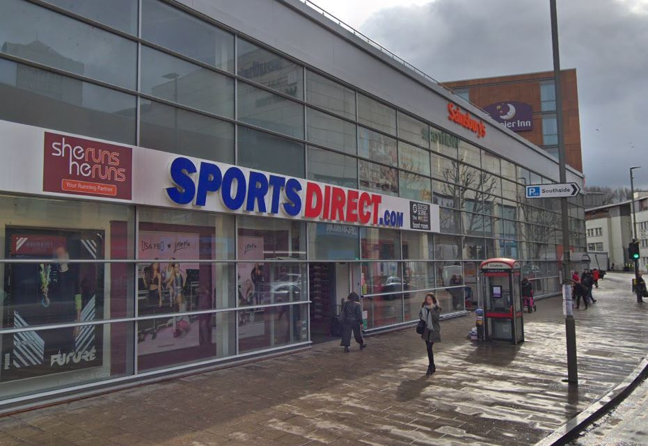 Sports Direct is being turned into a gym