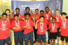 JPF table tennis team final Wandsworth winners Ernest Bevin College
